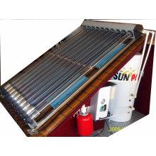 Chauffe-eau solaire non pressurisé Système d'installation de collecteur solaire