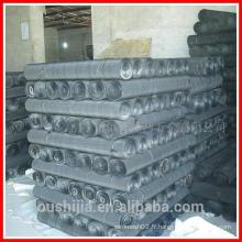 Maillage noir en métal (directement de l'usine)