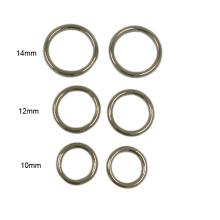 Дешевые Оптовая Эко-дружественных металла бюстгальтер кольцо и слайдер