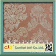 Polyester Jacquard Chenille Sofa Curtain Fabric