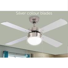 2020 Trending Cheap Price Enclosed Retractable Ceiling Fan with LED Light Kit