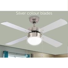 Ventilador de techo retráctil cerrado con precio económico de tendencia 2020 con kit de luz LED