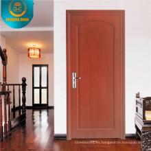 Puerta de seguridad clasificada fuego de madera del estilo europeo