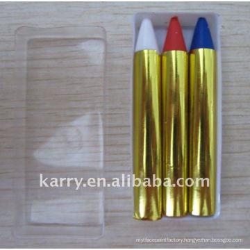 supply poland flag face paint set(2color)