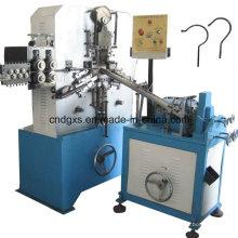 Machine de crochet de suspension avec unité de filetage