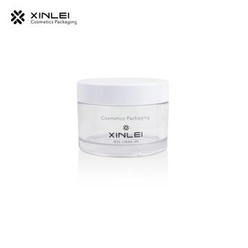 clear plastic 10g mini PETG dip powder jars