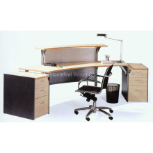 Traditional Office Wooden Small Cheap Reception Desk (LT-E401)