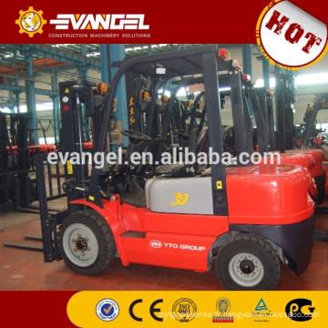 YTO 3 Tonnes 3 sections 4.5m mât Chariot élévateur diesel CPCD30
