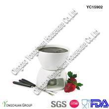 Set de fondue en céramique mini sur la promotion