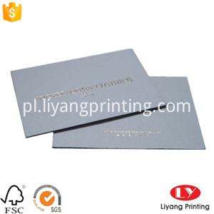 paper business card