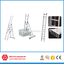 3 section extended ladder,industrial aluminium ladder,combination ladder