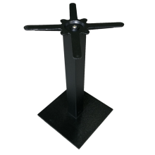 popular restaurant table stool cast iron black base