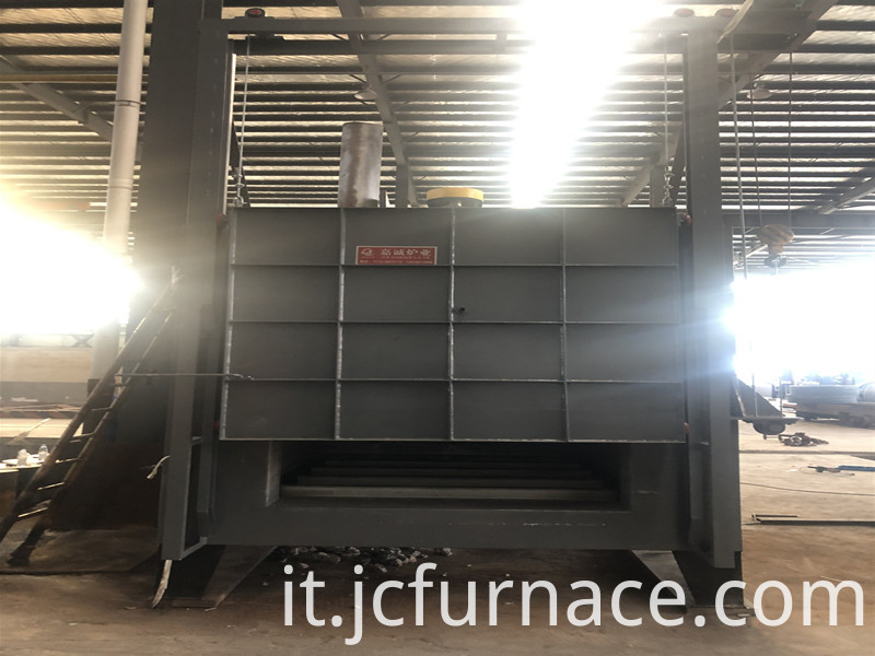 box type tempering furnace debugging