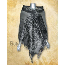 Jaquard diseño viscosa bufanda