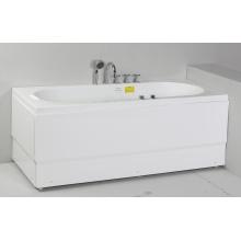 Banheira de banho quadrada de massagem acrílica (JL803)