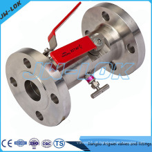 China Super Duplex SS Block e Bleed Valve