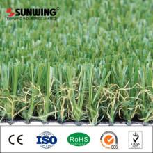 пластиковые искусственная трава с цветок для балкона озеленение