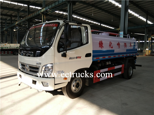 Foton Sprinkling Water Tank Trucks