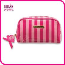 Mini Travel Makeup Cosmetic Bag Folding Hand Bag Washing Gargle Storage Hot Pink