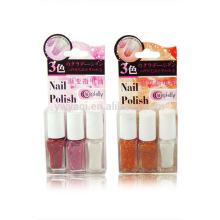 3pcs/set 6ml Colorful Cap 15ml Long Lasting Popular Clean Color Private Label Nail Polish