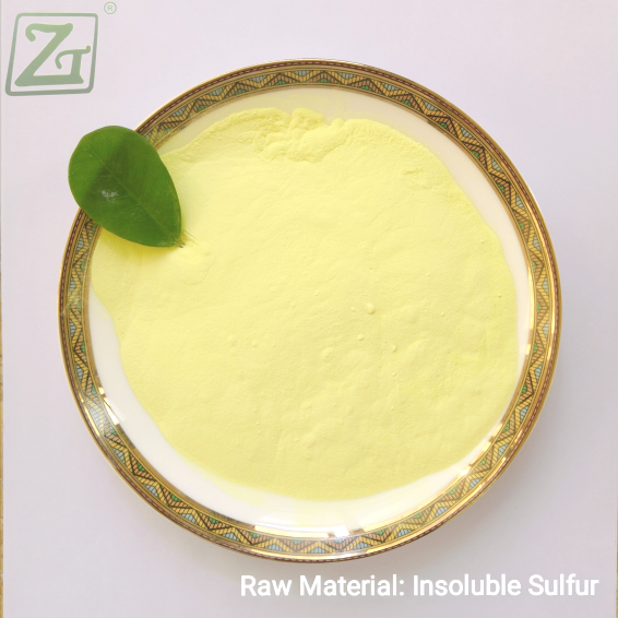 Raw Material: Insoluble Sulfur