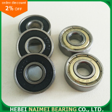 608zz Double Shielded Miniature Skateboard Ball Bearings