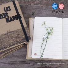 Promotional Gift Notebook with Elastic Strap (XL-JJZ-02)