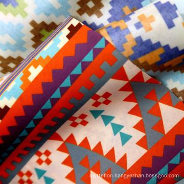 2 Layer Factory Directly Customize Printed Polyester 75D Laminated TPU Backing Waterproof Matt Fabric