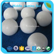 Bola de alumina média / bola de moagem média de aluina bola de cerâmica