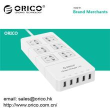 Chrismas ORICO HPC-6A5U 6 tomada usb com 5 USB HUB no escritório