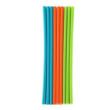 hot sales Reusable Flexible Silicone Straws Drinking Straws