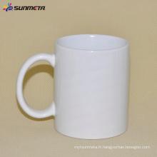 Factory directement 11oz en blanc Sublimation Tasses à bas prix en gros de Sunmeta