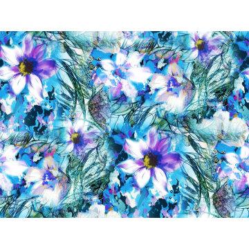 Moda Swimwear Tecido Impressão Digital Asq-052