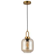 Lâmpada suspensa de vidro metálico com design mais vendido