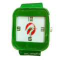 silicone waterproof of sports quartz watch