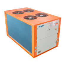 25HP Plastic Machine Can Use Eco-Friendly Refrigerant R407c Air Cooled Industrial Water Chiller