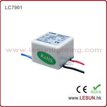 Controlador de corriente constante de alta calidad LED 3W / fuente de alimentación LC9701