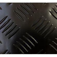 Glossy Black Coated Aluminum Checker Plate