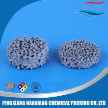 silicon carbide Ceramic foam filter for metal foundry(Alumina Zirconia SIC)