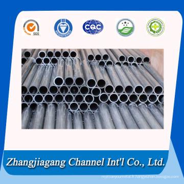 Tube en aluminium fileté de petit diamètre