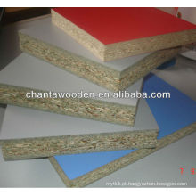 12mm / 15mm / 17mm / 18mm de madeira de madeira melamina papel laminado de madeira compensada