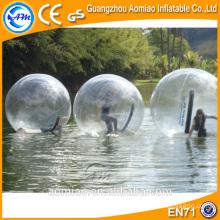 Bola de agua flotante / bola de agua jumbo que camina / precio inflable de la bola del agua