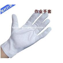 Мягкий Белый нейлон парад перчатки для Этикет Рабочая перчатка