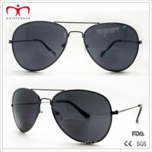 Klassische und heiße Verkäufe Bifocal Objektiv-Metall-Sonnenbrille (30037)