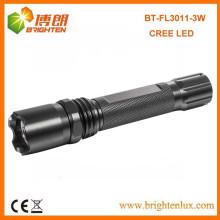 Factory Sale CE RoHS Алюминиевый материал 180lumen CREE XPE R3 Перезаряжаемый Мощный светодиодный фонарик с 1 * 18650 батареи