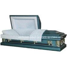20ga blau Stahl Sarg für Beerdigung