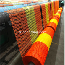 Bâtiment orange HDPE Construction Safety Alert Net