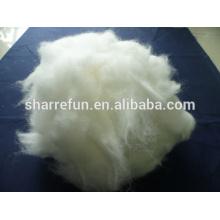 Fournisseur d'usine Grade A Angora lapin cheveux couleur blanche 15.0mic / 32mm
