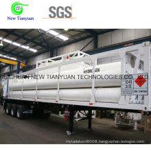 8-Tube Container Hydrogen Medium Semi-Trailer
