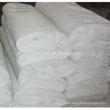 65% polyester 35% cotton poplin fabric shrink and bleaching process
